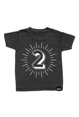 Whistle & Flute Typographic Number T-Shirts by Whistle & Flute