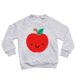 Whistle & Flute Kawaii Apple Sweatshirt by Whistle & Flute