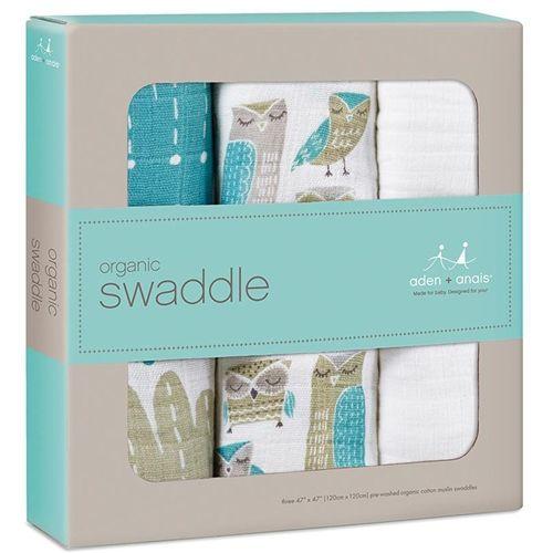 aden + anais Organic Cotton Swaddle Blankets by aden + anais