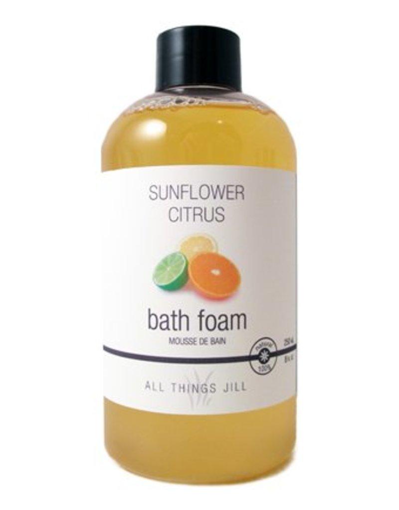 All Things Jill Bath Foam Sunflower Citrus by All Things Jill (250ml)
