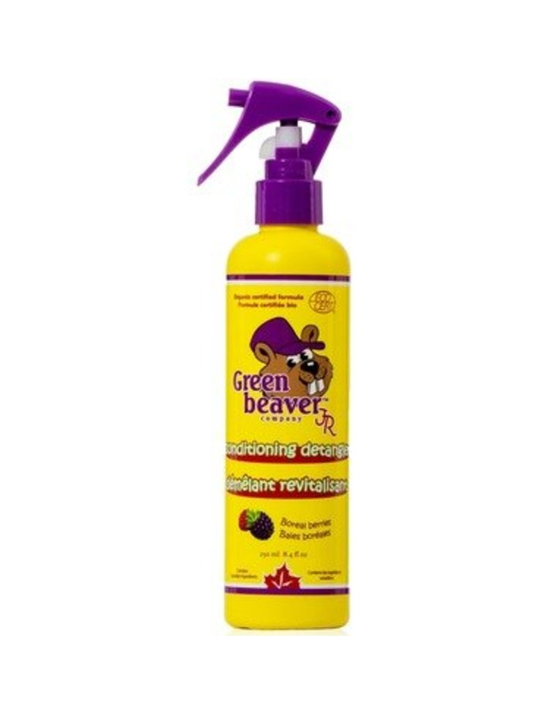 Green Beaver Green Beaver Jr. Bath Products - Bubble Bath, Gentle Shampoo, and Conditioning Detangler