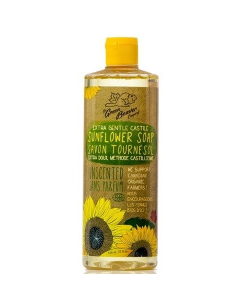 Green Beaver Extra Gentle Castile Sunflower Soap by Green Beaver (495ml)