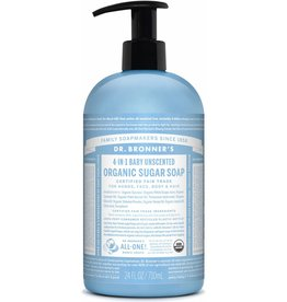 Dr. Bronner's Dr. Bronner's Unscented Organic Pump Soap 355ml