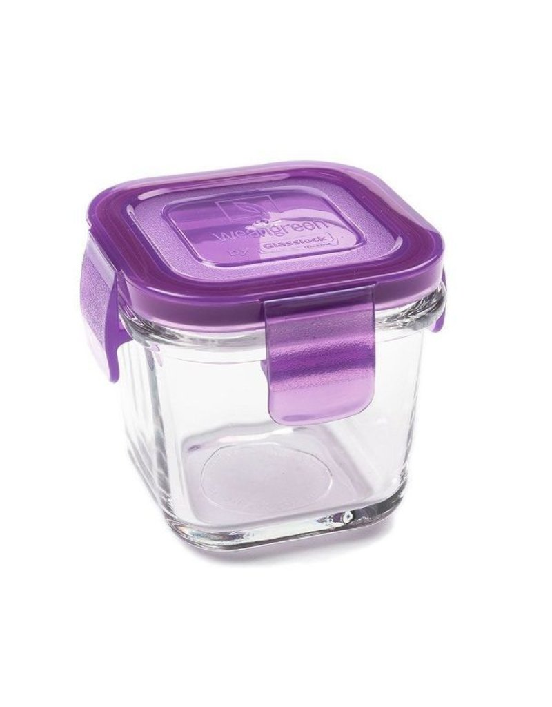 Wean Green Tempered Glass Food Storage Containers by Wean Green - Wean Cube, Snack Cube, Meal Cube, Wean Tub, and Wean Bowl