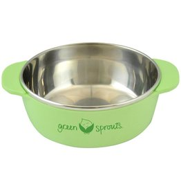 Green Sprouts Stainless Steel Bowl by Green Sprouts