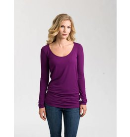Au Fait Mama The Nourish Long Sleeve Shirt for Pregnancy + Nursing by Au Fait Mama
