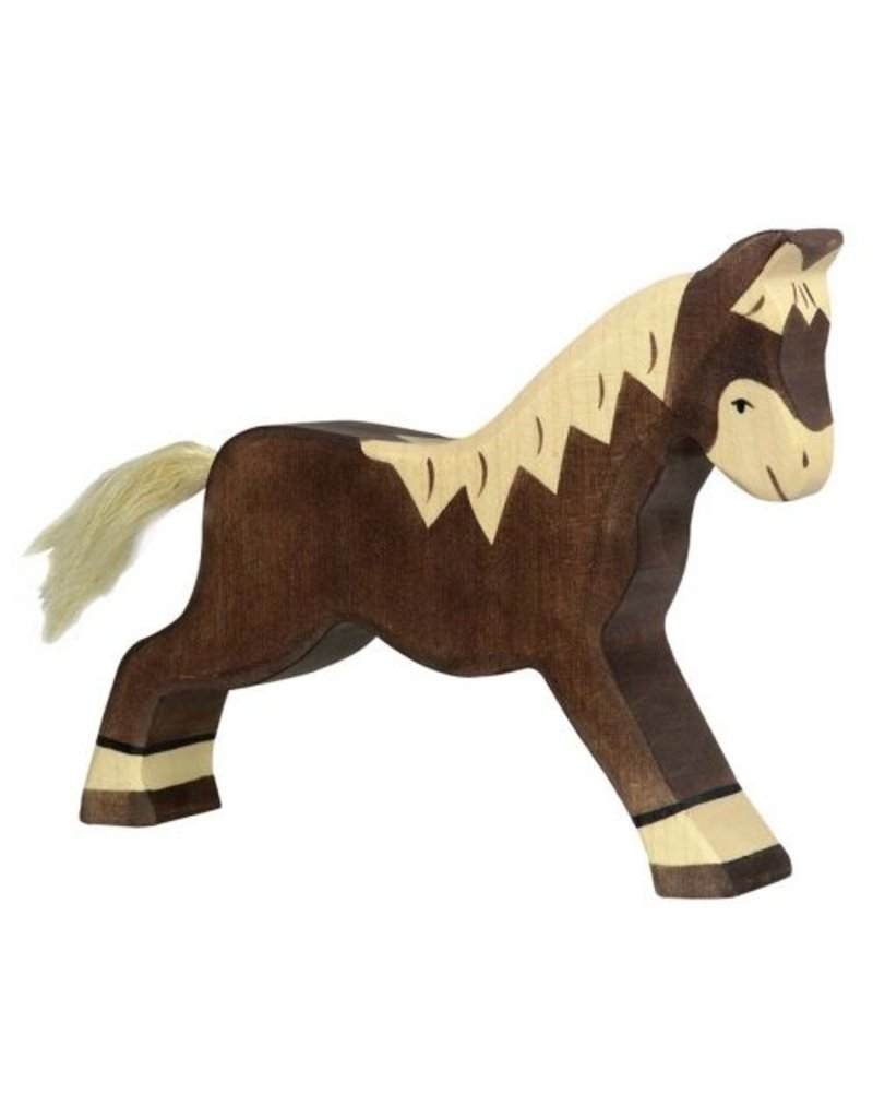 Holztiger Wooden Animal Figures ~ Horses & Ponies ~ by Holztiger