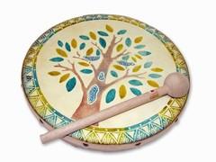 Jamtown Wooden Frame Drum (Fair Trade)