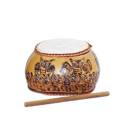 Jamtown Owl's Nest Gourd Drum (Fair Trade)