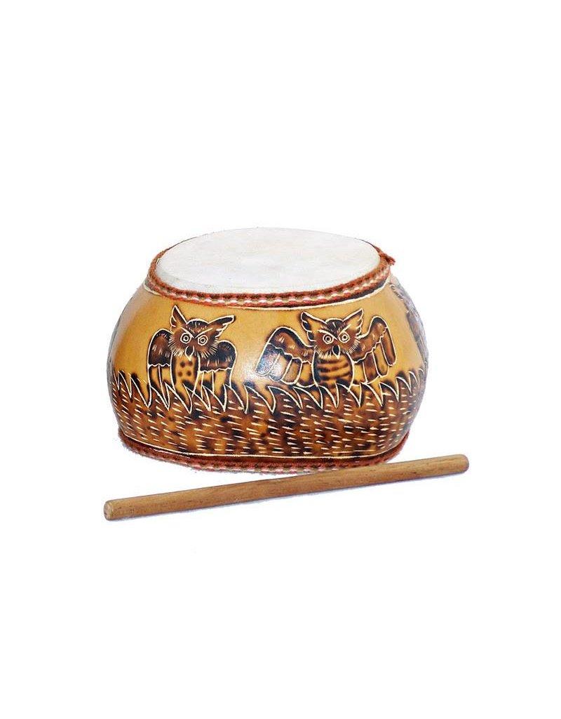 Jamtown Owl's Nest Gourd Drum (Fair Trade)
