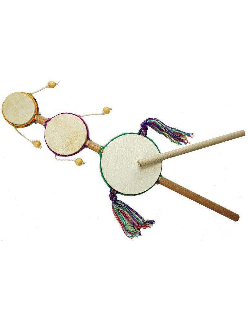 Jamtown Junior Triple Spin Drum - Musical instrument by Jamtown