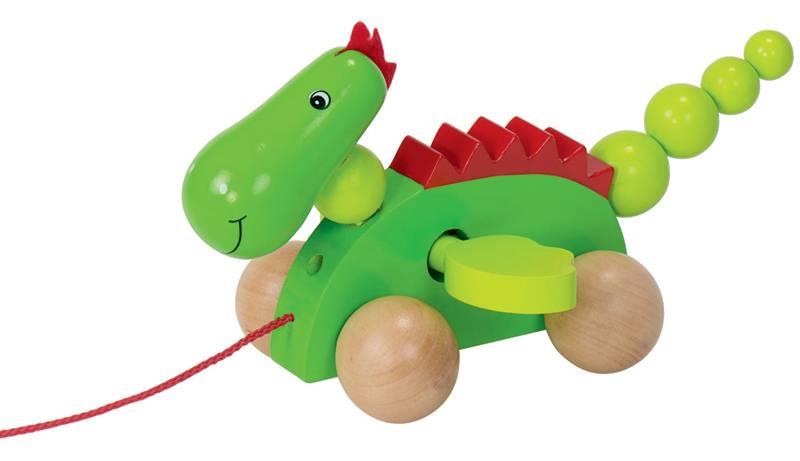 Goki Wooden Pull Along Animals