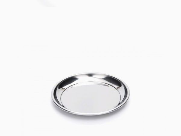 Onyx Perfect Baby's First Plate; Small Stainless Steel Plate by Onyx