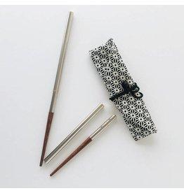 Onyx Steel/Bamboo Chopsticks