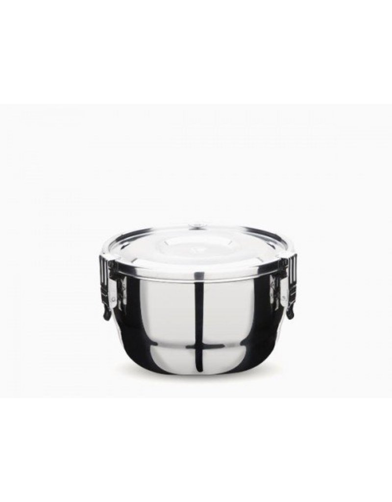 Onyx 12cm Stainless Steel Airtight Container