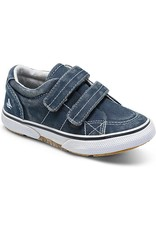 Sperry Halyard Hook and Loop Navy Blue Sneaker by Sperry Kids