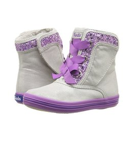 Keds Sparkling Purple/Grey Maisie Boot by Keds