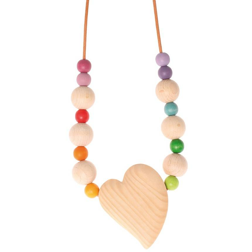 Grimms Wooden Nursing Necklace by Grimms ~
