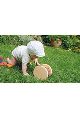 Grimms Large Wooden Rolling Wheel Toy by Grimms
