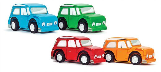 Le Toy Van Whizzy Pull Back Cars by Le Toy Van