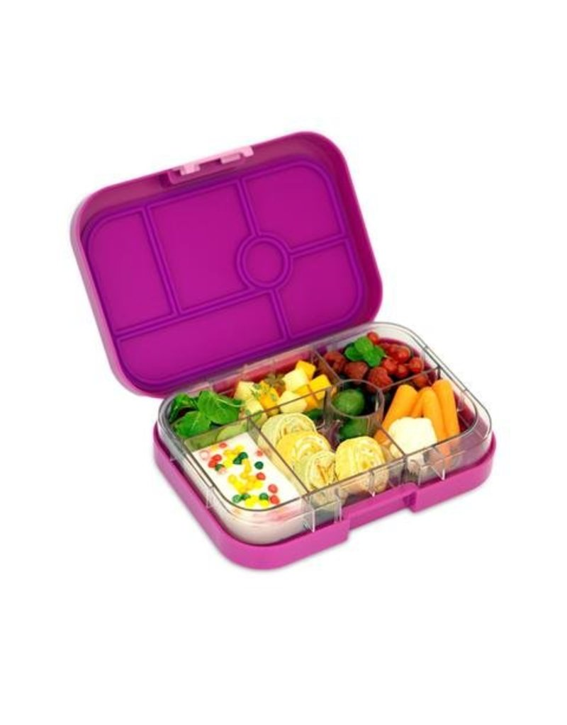 yumbox leak proof bento box original 6 compartment abby sprouts eco friendly baby and kids. Black Bedroom Furniture Sets. Home Design Ideas