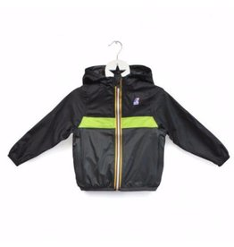 K-Way Colour Block Style Waterproof Packable Jacket by K-Way