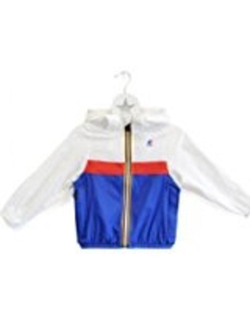 K-Way Colour Block Style Waterproof Packable Jacket by K-Way