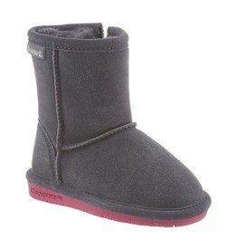 Bearpaw Classic Sheepskin Lined Boots, Emma Style with Easy Side Zipper