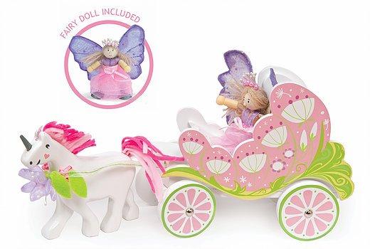 Le Toy Van Carriage & Unicorn by Le Toy Van