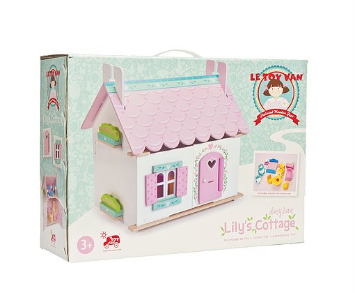 Le Toy Van Lily's Cottage w/ Furniture by Le Toy Van