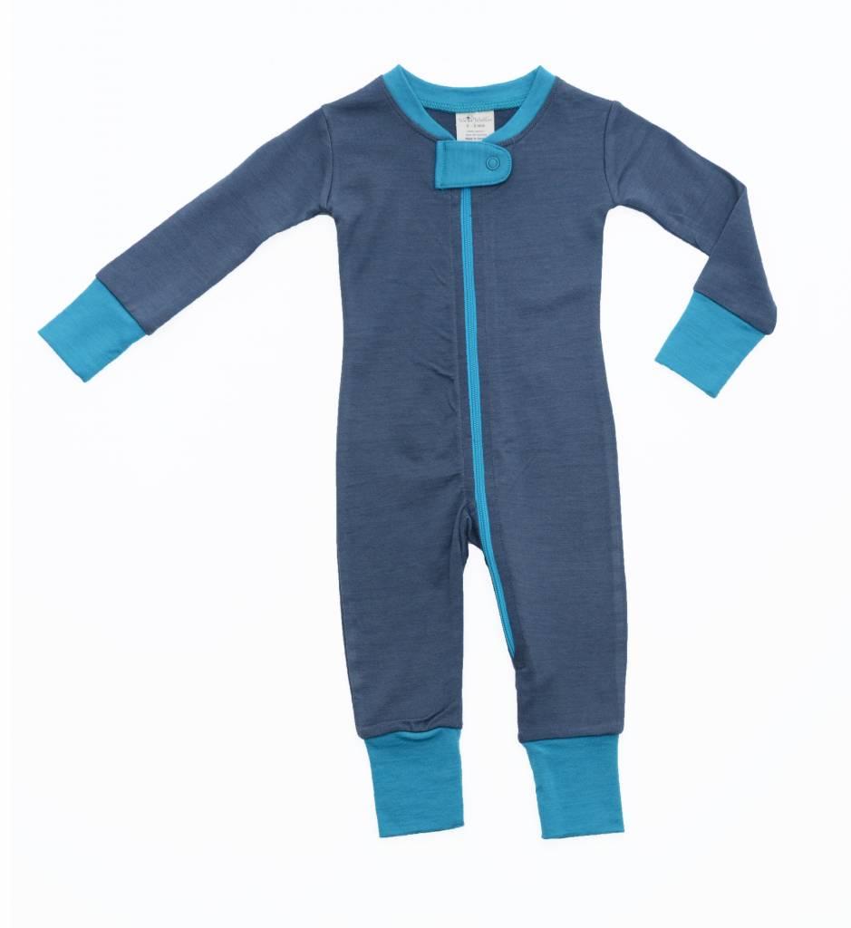 Wee Woollies Merino Wool Zip Sleeper by Wee Woollies