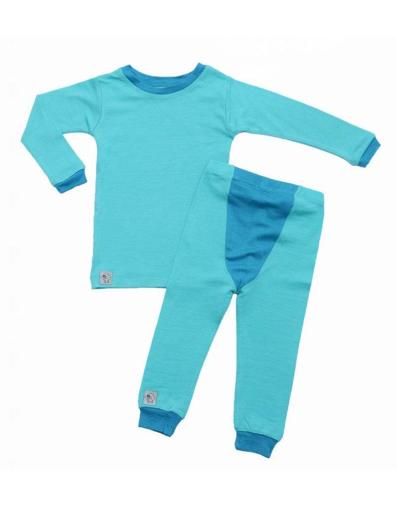 Wee Woollies Merino Base Layer Set/ Pajamas Sets by Wee Woollies (2017)