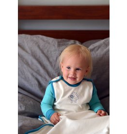 Wee Woollies Merino Wool & Organic Cotton Sleep Sack by Wee Woollies