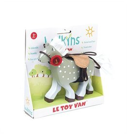 Le Toy Van Grey Horse with Saddle by Le Toy Van