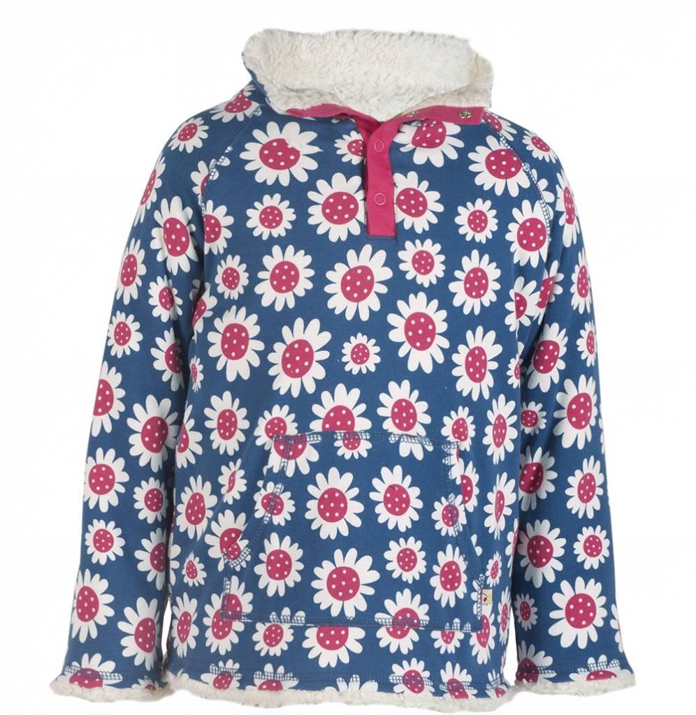 Frugi Big Kids Snuggle Fleece Organic Cotton Sweater by Frugi