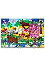 Eeboo Woodland Animals Giant Floor Puzzle 48-Piece by Eeboo