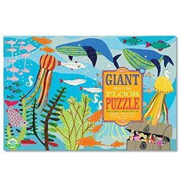 Eeboo Under the Water Giant Floor Puzzle 48-Piece by Eeboo