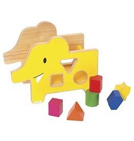 Manhattan Toy Giggle Wood Shape Sorter by The Manhattan Toy Company