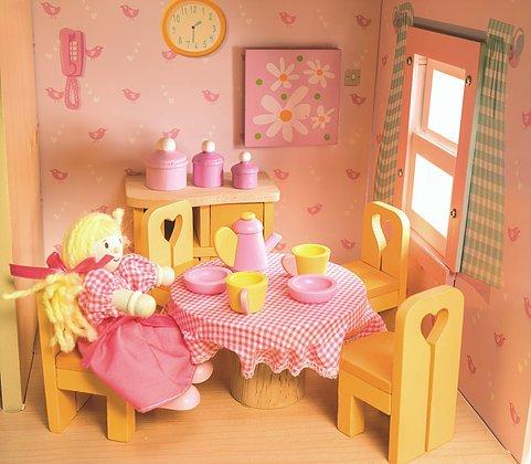 Le Toy Van Sugar Plum Dining Room Set By