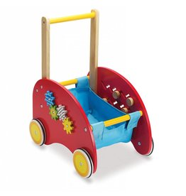 Manhatton Toy Wooden Activity Push Cart by Manhatton Toy