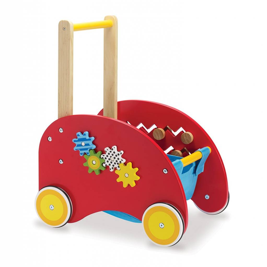 Manhattan Toy Wooden Activity Push Cart by Manhatton Toy