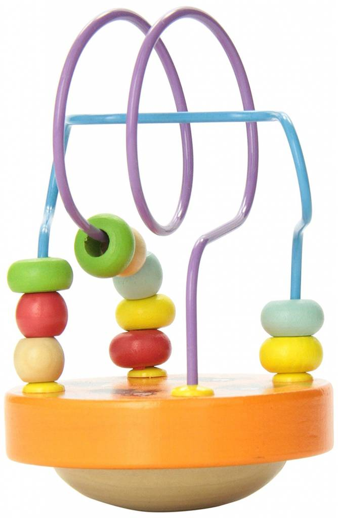Manhattan Toy Wobble a Round Bead Maze by Manhatton Toy