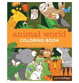 Petit Collage Colouring Book by Petit Collage