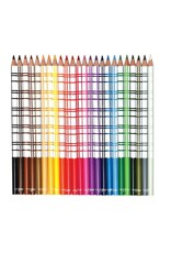 Eeboo Watercolor Pencils in Tin (24-Pack) by Eeboo