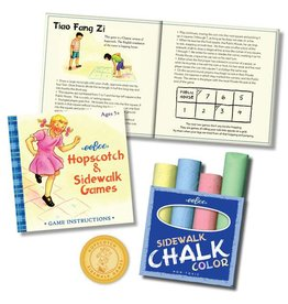 Eeboo Sidewalk Chalk Games by Eeboo