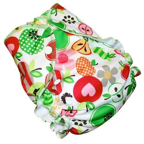 AMP One-Size Duo Cloth Diaper by AMP (Prints)