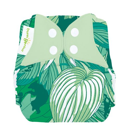 Bumgenius Elemental All in One Organic One-Size 8-35 lbs Cloth Diaper by Bumgenius
