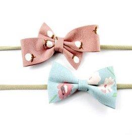 Baby Wisp Acorn Floral Headband 2 Pack by Baby Wisp