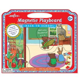 Eeboo Make Me a Story Magnetic Playboard - Back to School
