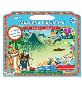 Eeboo Make Me a Story Magnetic Playboard - Volcano Island